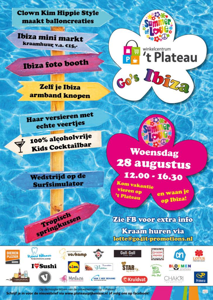 Plateau go's Ibiza