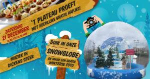 't Plateau proeft!